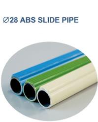 Φ28 ABS SLIDE PIPE